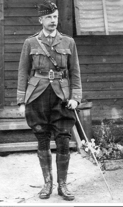 Officier Ecossais WW1 Donald McDonald (Sculpture TERMINEE) Donald10