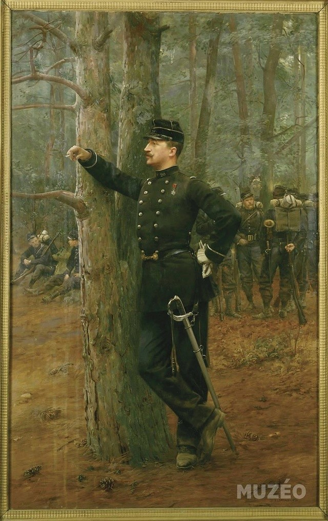 FIN - le sous lieutenant edouard Detaille par BONO Edouar11