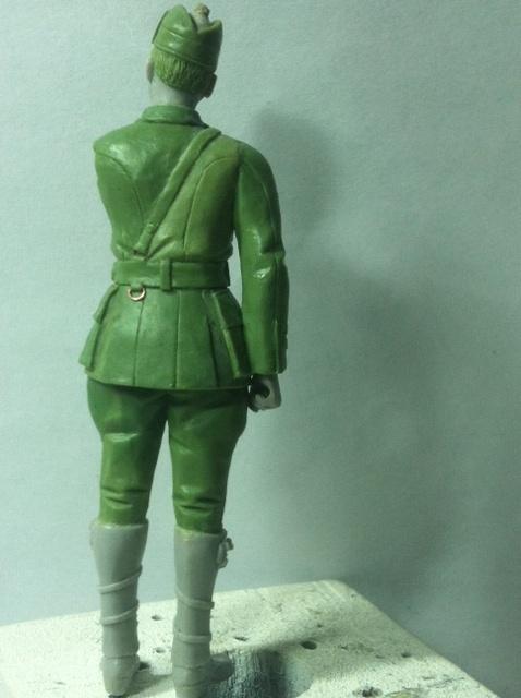 Officier Ecossais WW1 Donald McDonald (Sculpture TERMINEE) Photo_13
