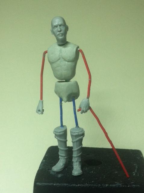 Officier Ecossais WW1 Donald McDonald (Sculpture TERMINEE) Photo_14