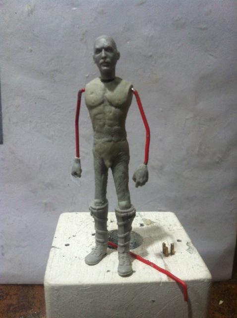 Officier Ecossais WW1 Donald McDonald (Sculpture TERMINEE) Photo_15