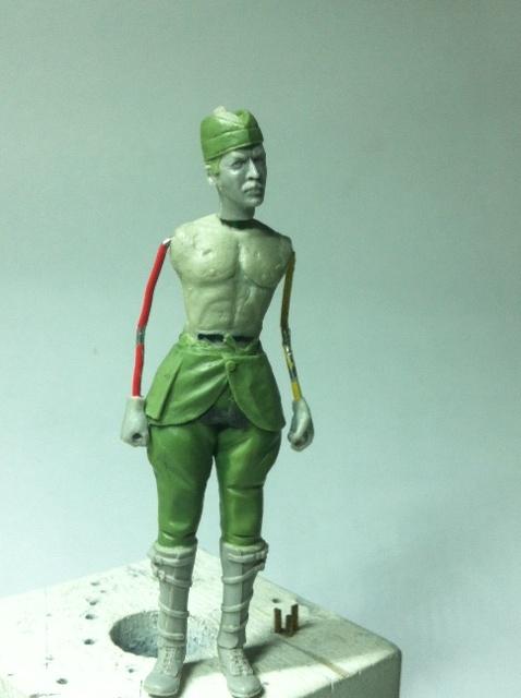 Officier Ecossais WW1 Donald McDonald (Sculpture TERMINEE) Photo_16