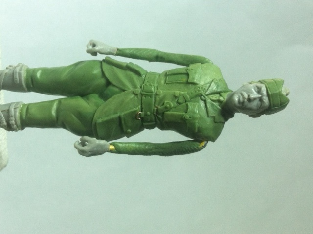 Officier Ecossais WW1 Donald McDonald (Sculpture TERMINEE) Photo_17