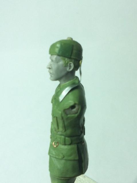 Officier Ecossais WW1 Donald McDonald (Sculpture TERMINEE) Photo_18