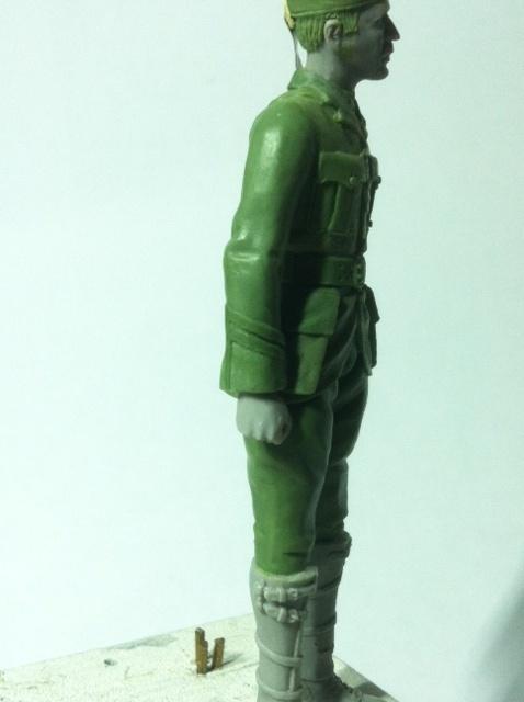 Officier Ecossais WW1 Donald McDonald (Sculpture TERMINEE) Photo_19
