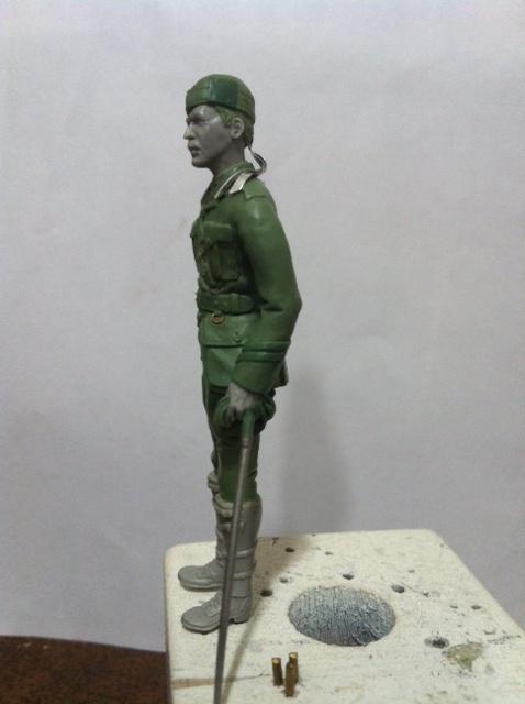 Officier Ecossais WW1 Donald McDonald (Sculpture TERMINEE) Photo_20