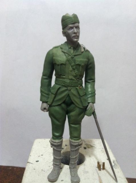 Officier Ecossais WW1 Donald McDonald (Sculpture TERMINEE) Photo_21