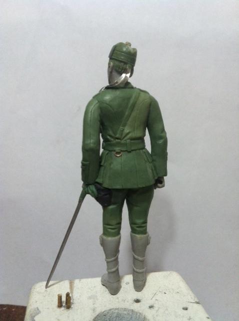 Officier Ecossais WW1 Donald McDonald (Sculpture TERMINEE) Photo_22