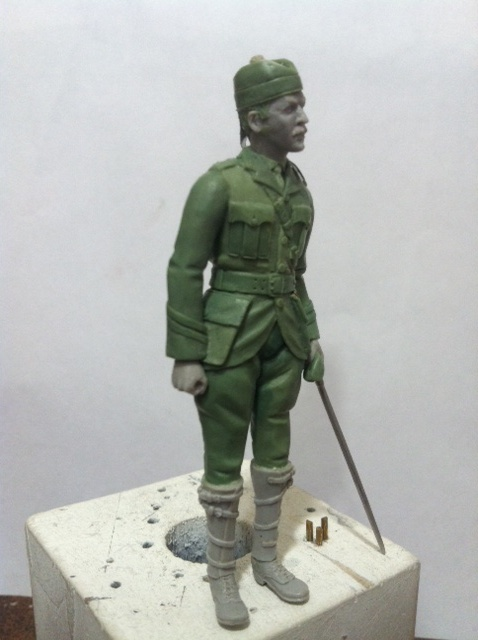 Officier Ecossais WW1 Donald McDonald (Sculpture TERMINEE) Photo_23