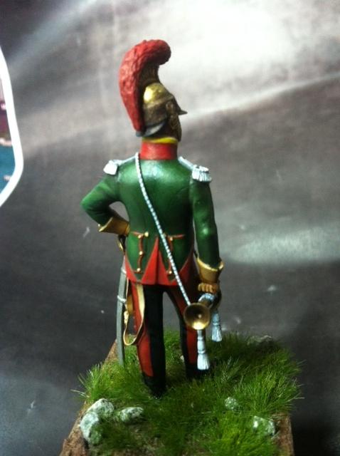 Trompette du 6ème rgt de chevau-légers lancier 1814 par BONO Photo_33