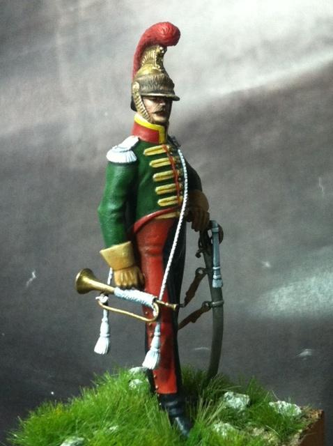 Trompette du 6ème rgt de chevau-légers lancier 1814 par BONO Photo_34