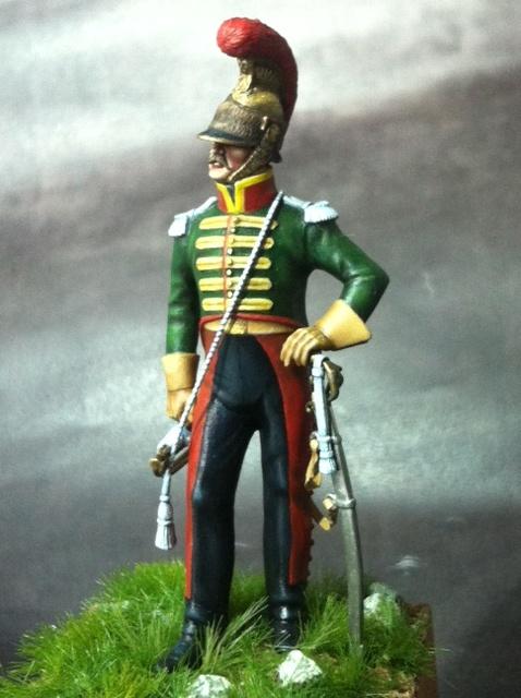 Trompette du 6ème rgt de chevau-légers lancier 1814 par BONO Photo_35