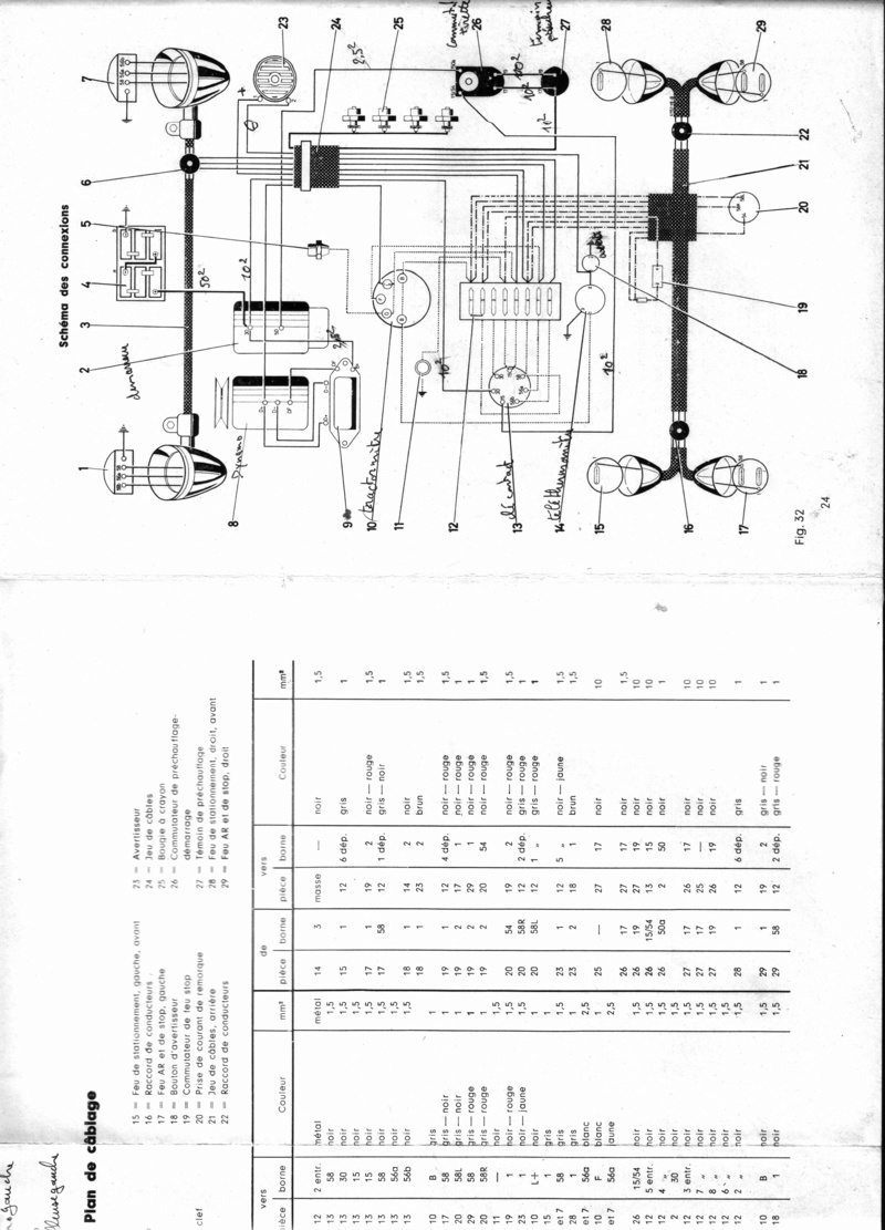 plan schema electrique deutz d6005
