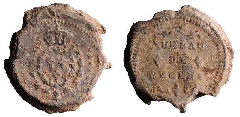 Plomb de la douane d'Angers, avant 1737 D482310