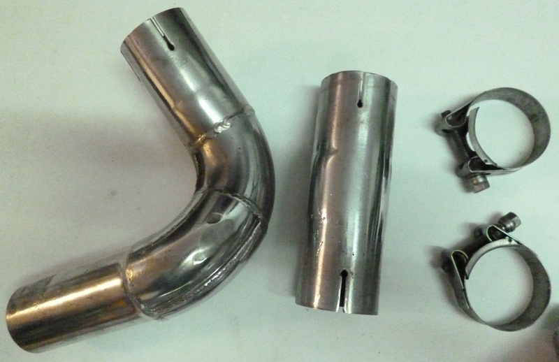 Echappement/Silencieux - 4 en 1 - IXIL carbone - XJR P1170613