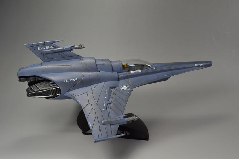Battlestar Galactica Modelle von Revell Dsc_0020