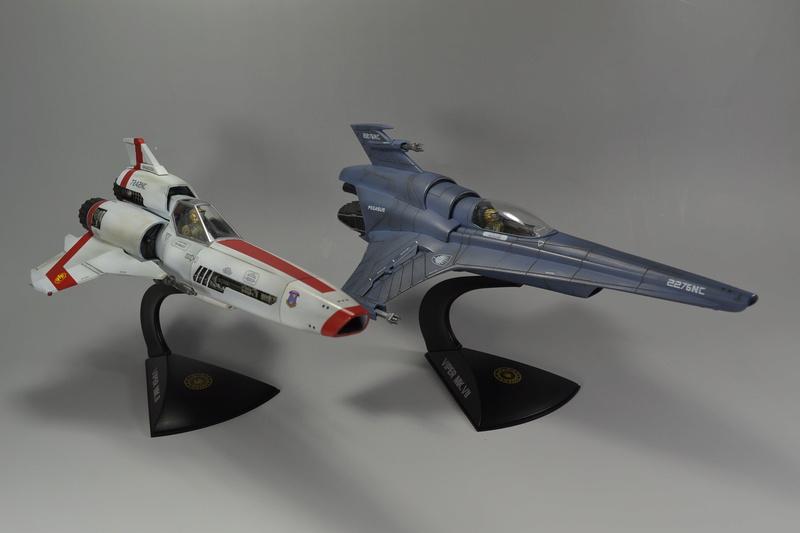 Battlestar Galactica Modelle von Revell Dsc_0027