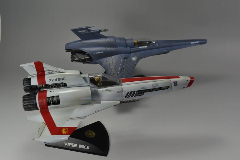 Battlestar Galactica Modelle von Revell Dsc_0029