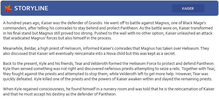 Nova : Kaiser : 카이저 Storyl10