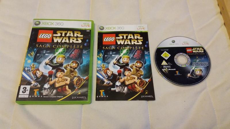 [VDS/ECH] Collection de 41 jeux XBOX 360 de BE à neuf sous blister Lego_c10