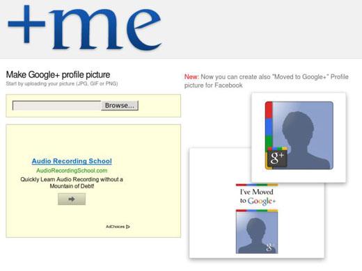 موقع يساعدك على إنشاء صورة شخصية لحسابك في قوقل بلس Me-cre10
