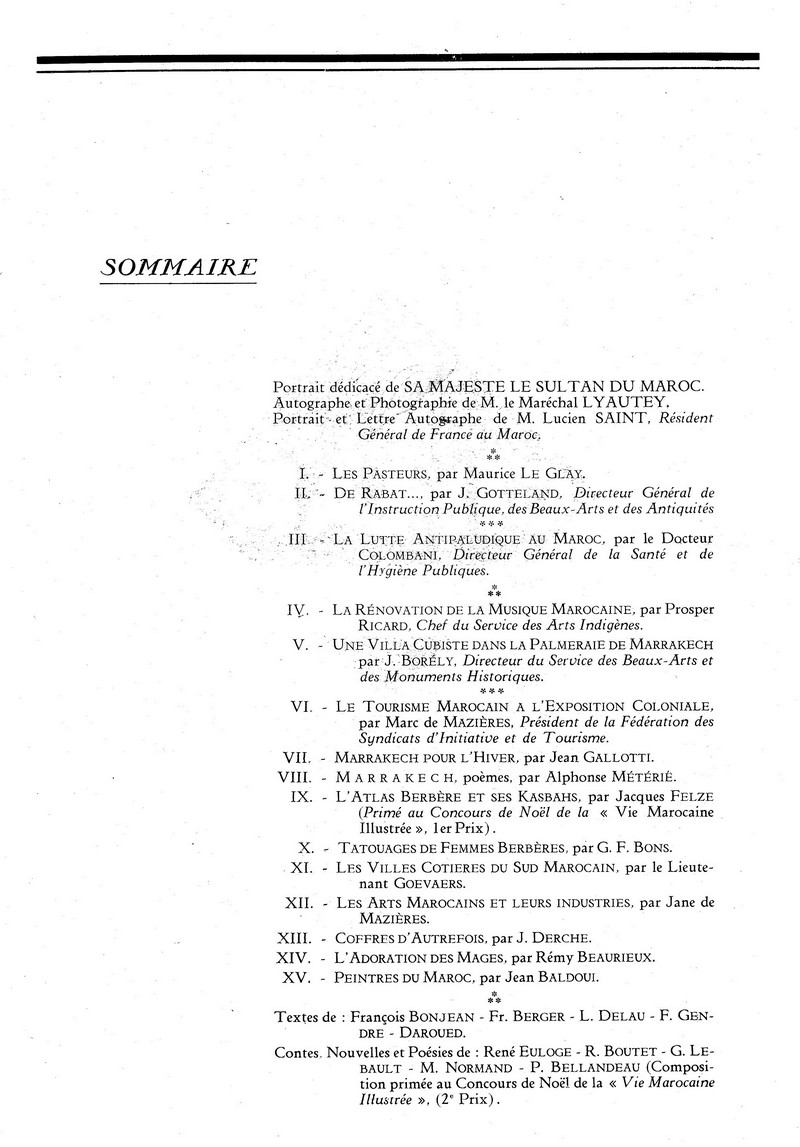 La Vie Marocaine Illustrée 1932 01-la_10