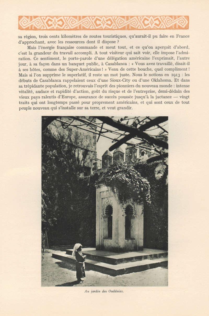 VISIONS DU MAROC, André CHEVRILLON. 02-vis11