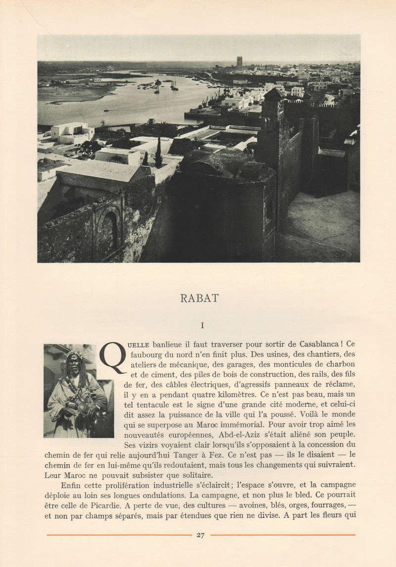 VISIONS DU MAROC, André CHEVRILLON. 03-vis11