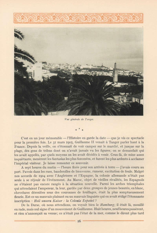 VISIONS DU MAROC, André CHEVRILLON. 08-vis10