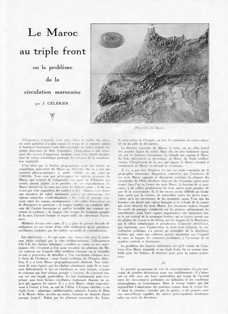La Vie Marocaine Illustrée 1932 - Page 3 10-la_11