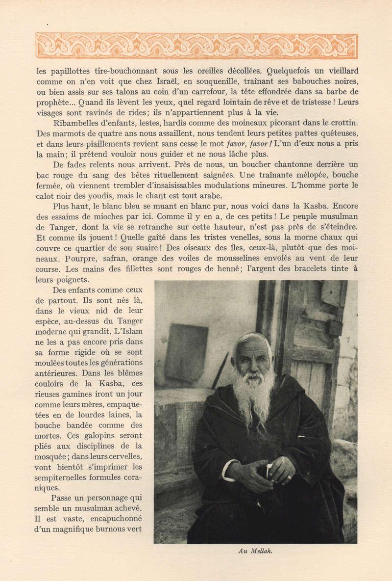 VISIONS DU MAROC, André CHEVRILLON. 11-vis10