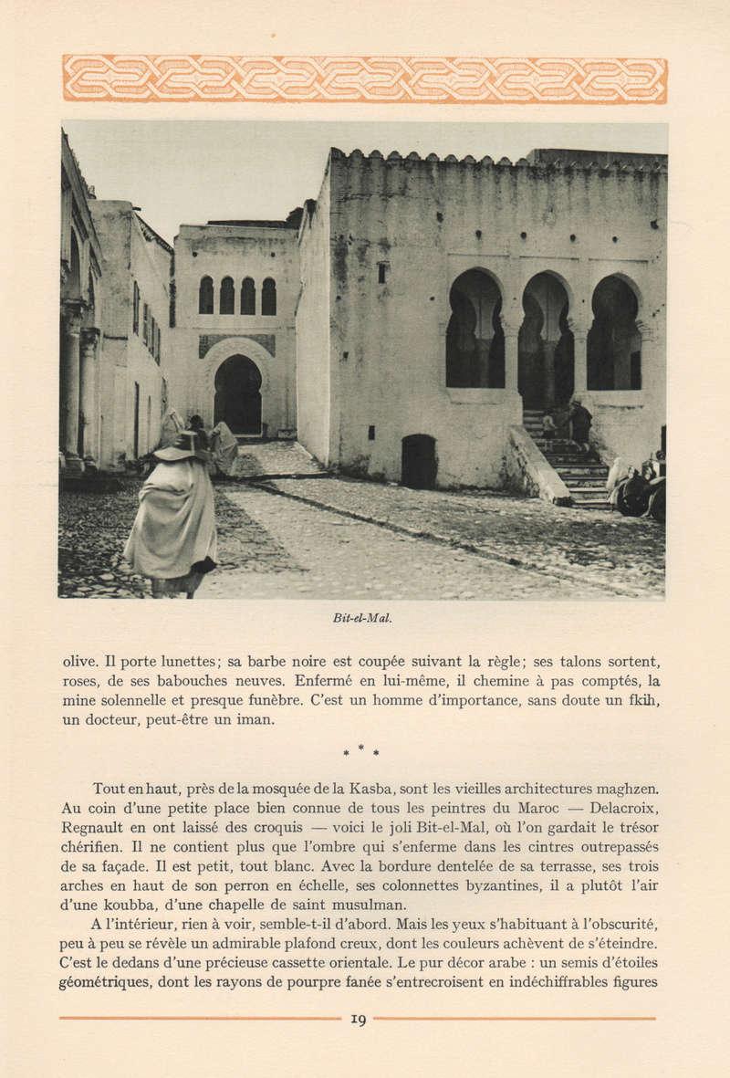 VISIONS DU MAROC, André CHEVRILLON. 12-vis10