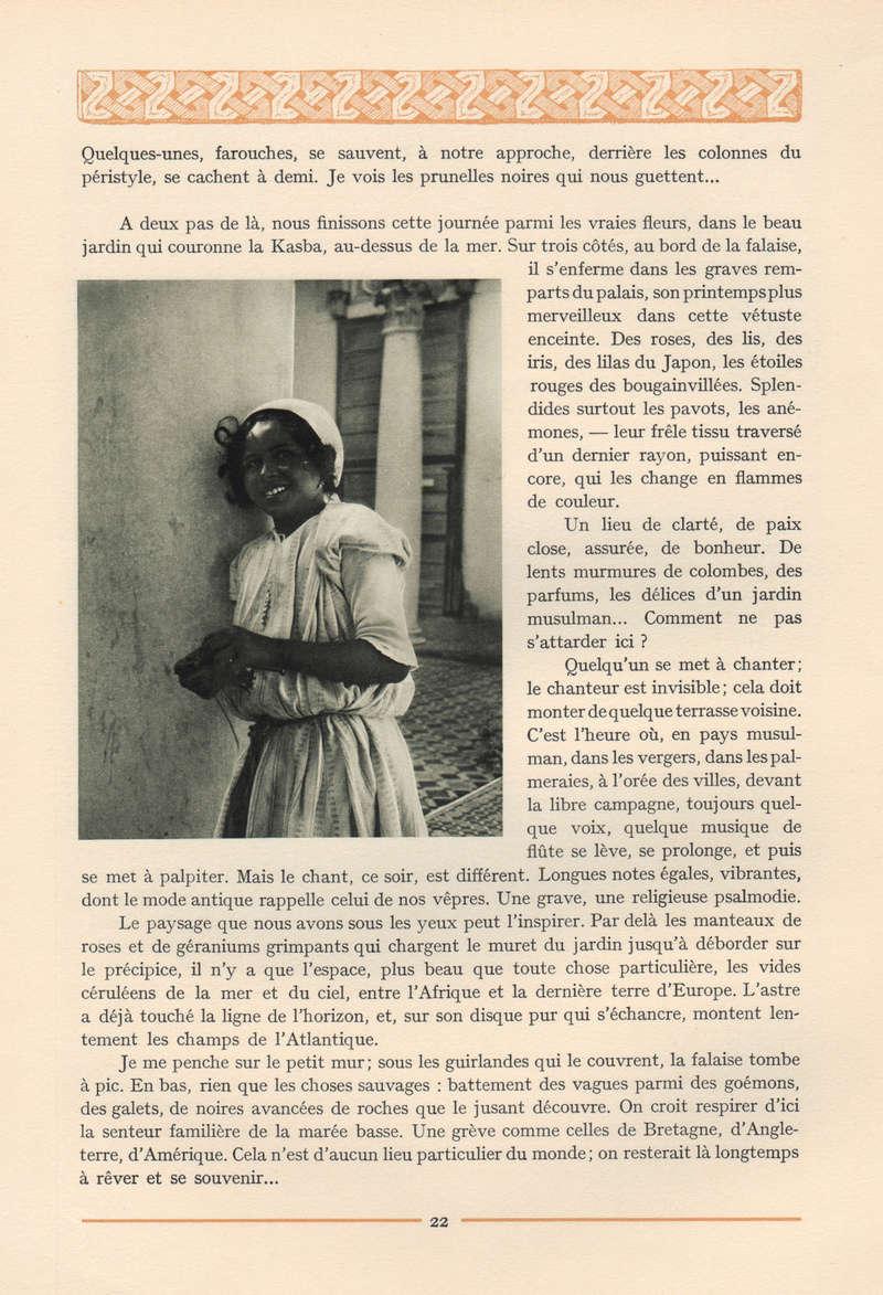 VISIONS DU MAROC, André CHEVRILLON. 15-vis10