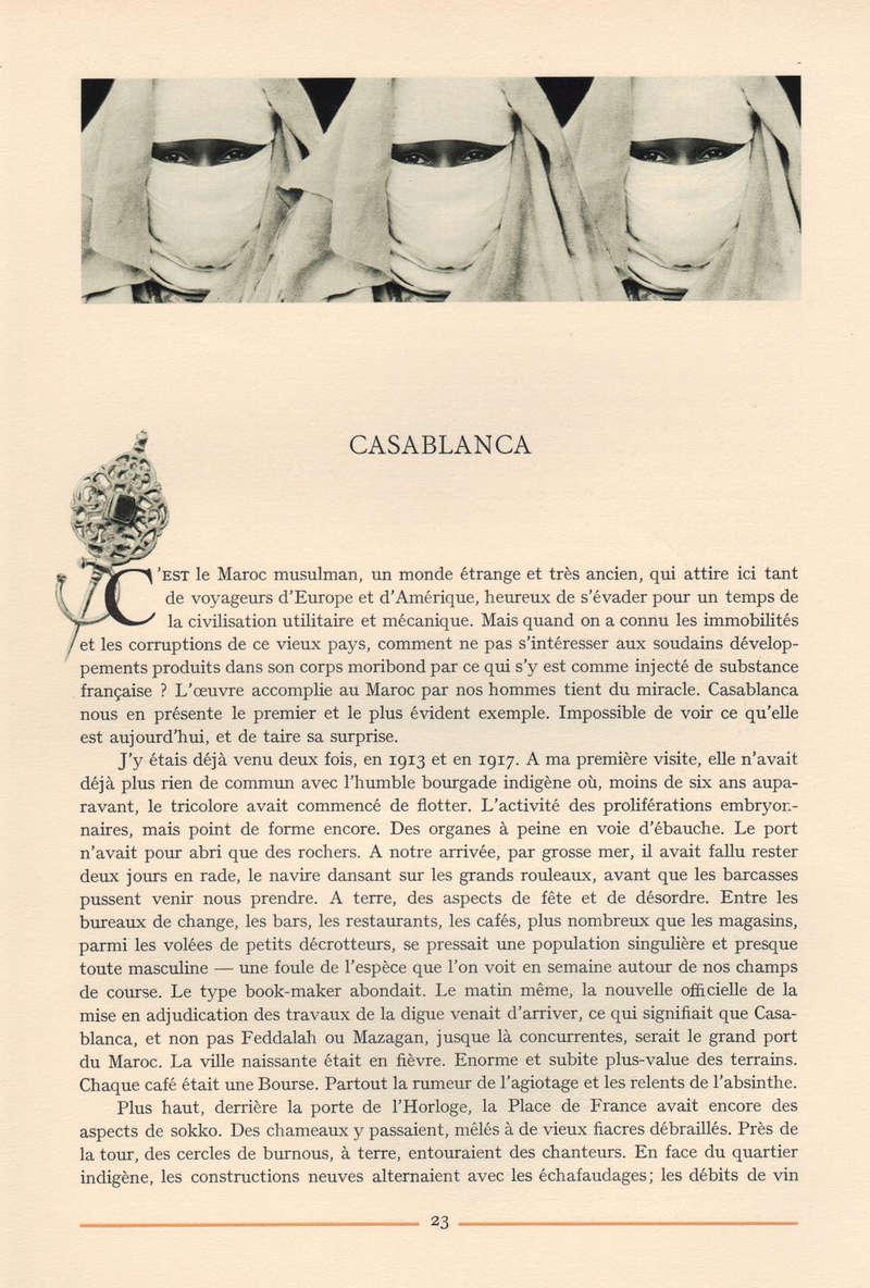VISIONS DU MAROC, André CHEVRILLON. 16-vis10
