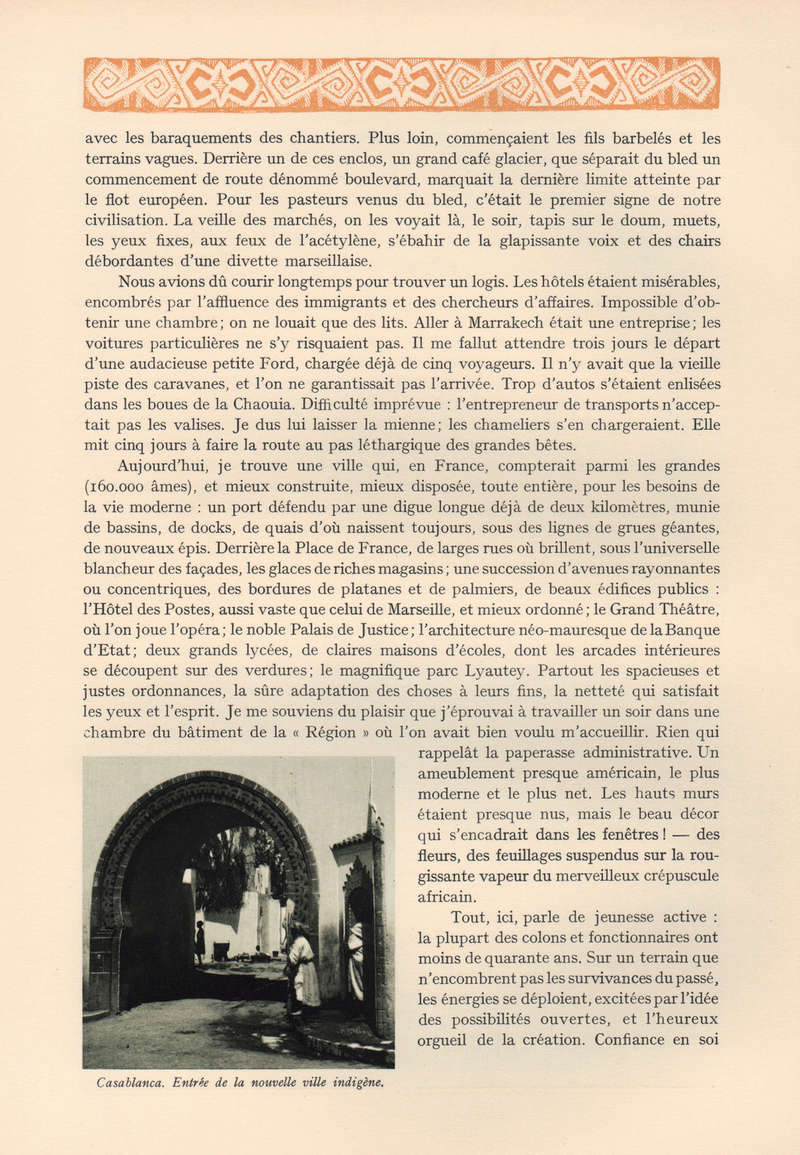 VISIONS DU MAROC, André CHEVRILLON. 17-vis10