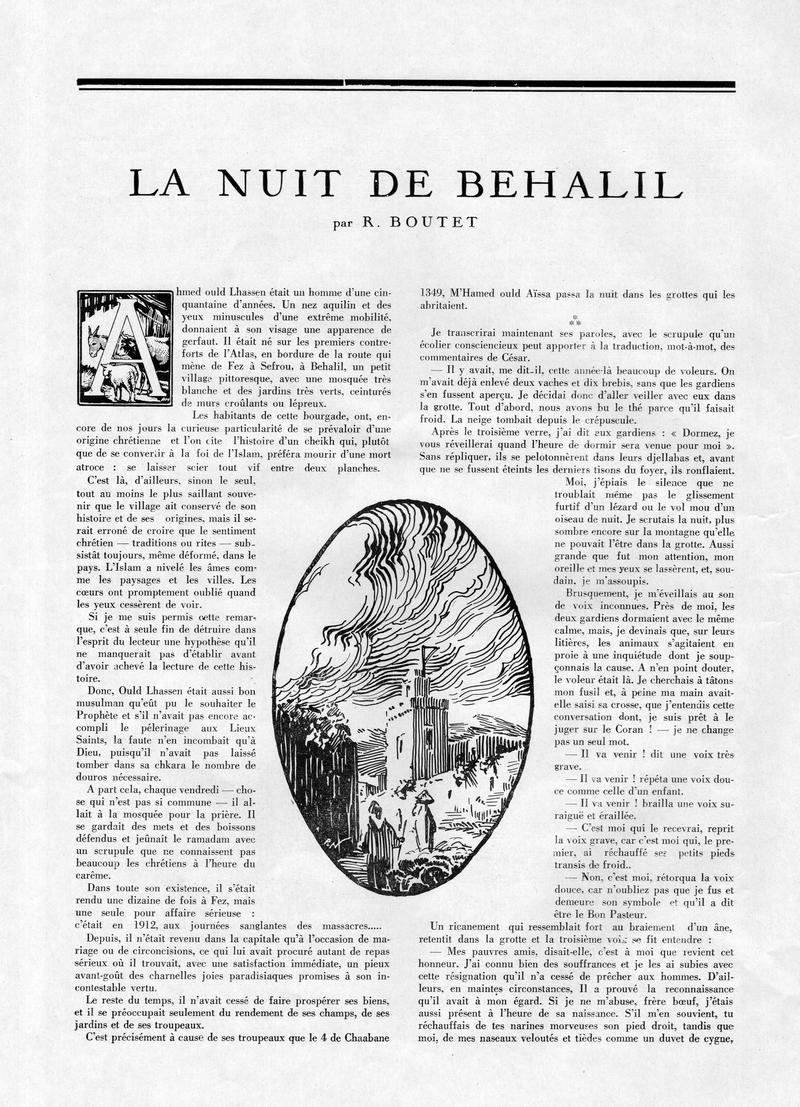 La Vie Marocaine Illustrée 1932 - Page 3 25-la_11