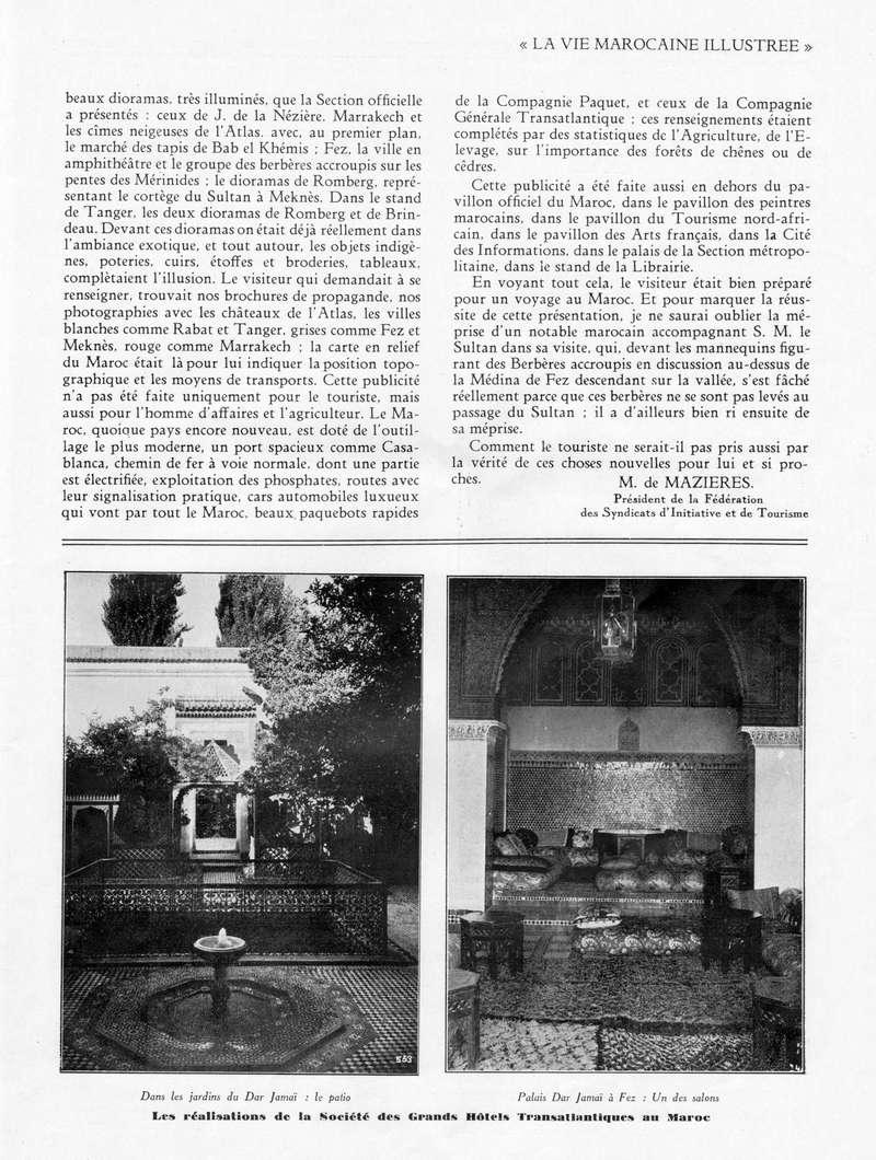 La Vie Marocaine Illustrée 1932 - Page 2 La_vie15
