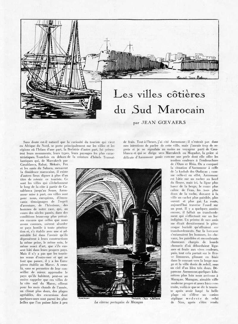 La Vie Marocaine Illustrée 1932 - Page 2 La_vie22