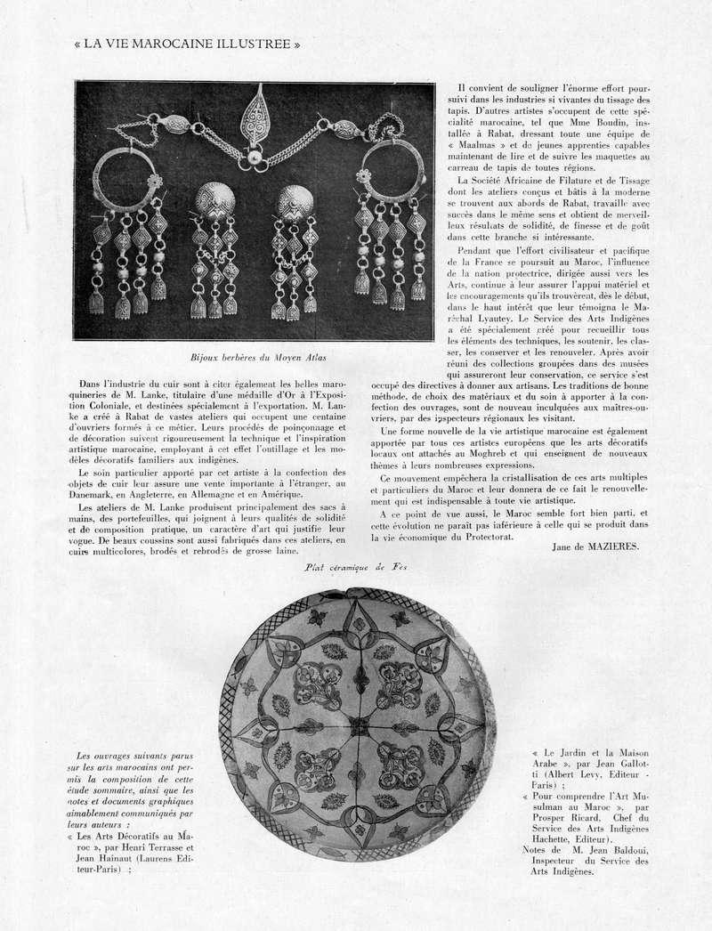 La Vie Marocaine Illustrée 1932 - Page 2 La_vie29