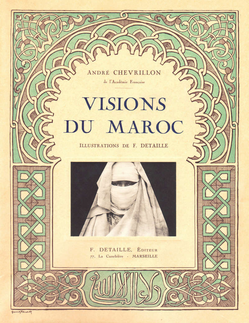 VISIONS DU MAROC, André CHEVRILLON. La_vie52