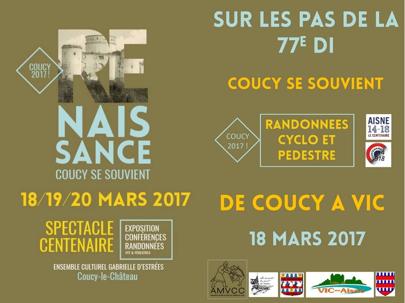 18 Mars 2017 à Coucy le Château .Rando historique 77em DI Rando_10