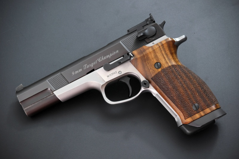 SMITH & WESSON TARGET CHAMPION  - PERFORMANCE CENTER - 9 MN Zrptzl10