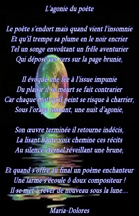 L'agonie du poète...Forme le sonnet marotique... L_agon10