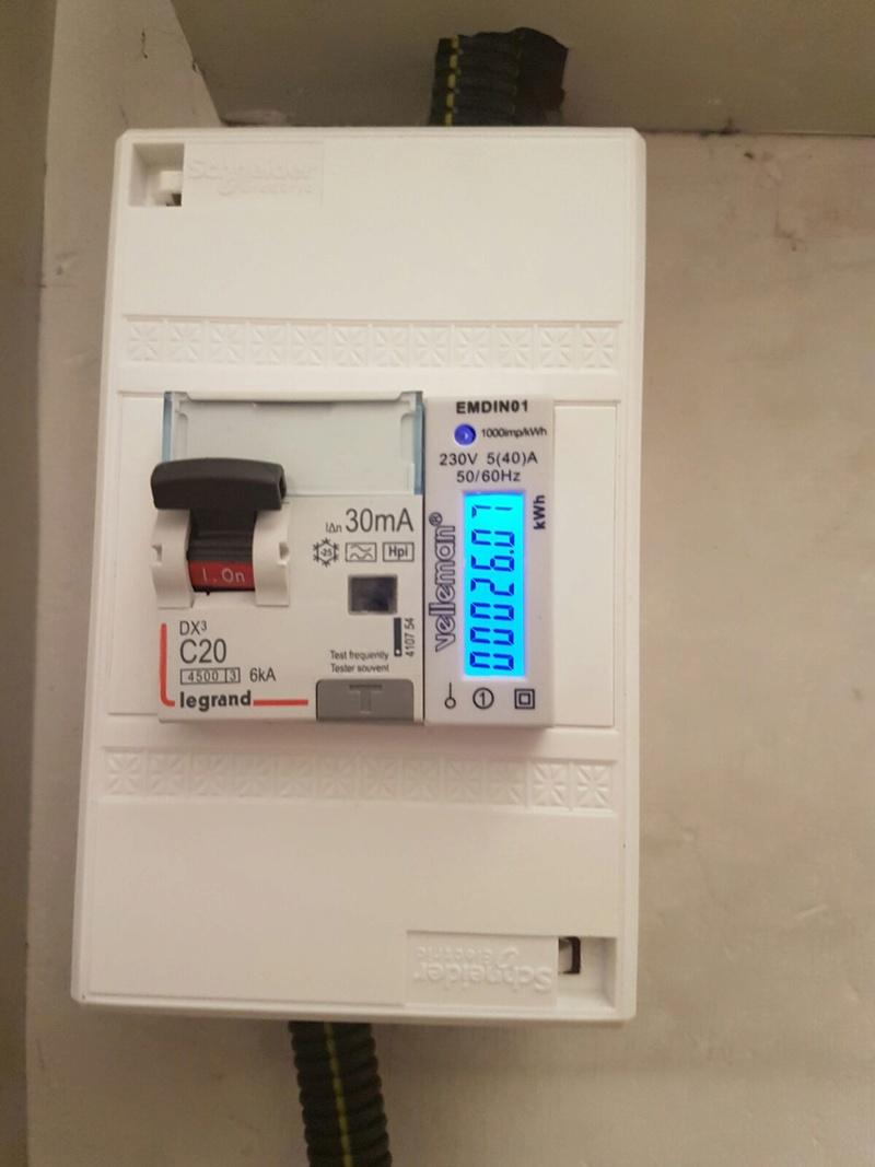 Coût d'une recharge sur borne domestique : TEST réel  2aea5b10