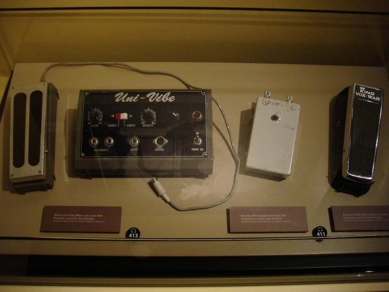 Experience Music Project Seattle - 2015 Pedals11