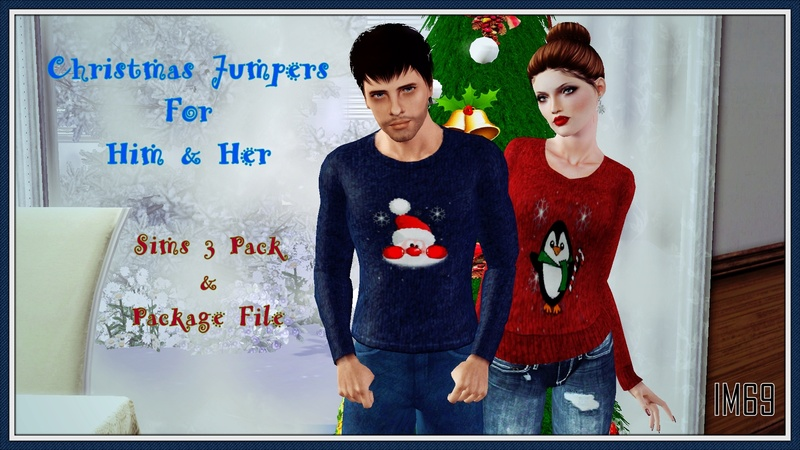 His and Hers Christmas Jumpers by InaMac69 Xmas10