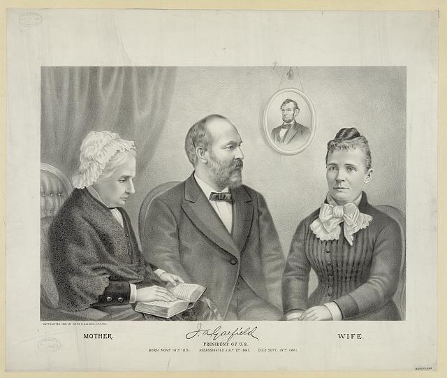 James A. Garfield (1831-1881) and Lucretia Rudolph (1832-1918) 01866r10