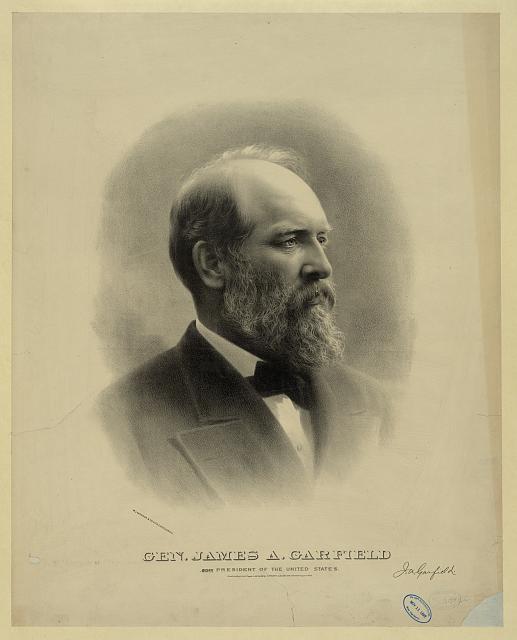 James A. Garfield (1831-1881) and Lucretia Rudolph (1832-1918) 03146r10