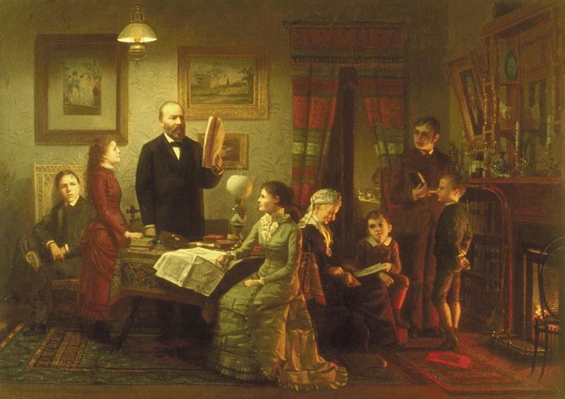 James A. Garfield (1831-1881) and Lucretia Rudolph (1832-1918) 41969311
