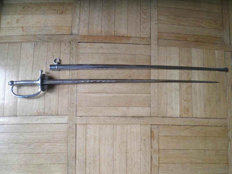Epée de sous-officier rengagé P8282213